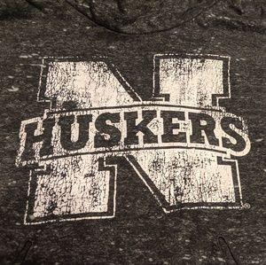 Nebraska Huskers hoodie (women's large)